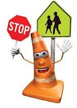Cone-with-Stop-Sign